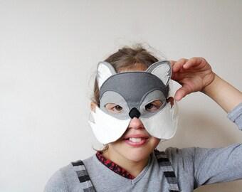 Wild Cat Mask, Puma Mask, Kids Mask, Carnival Mask, Halloween Mask, Mardi Gras Mask, For Boys, For Girls, Cat Costume Accessory