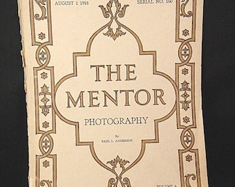 SaLE - 1918 THE MENTOR Magazine: Photography by Paul Anderson (390)