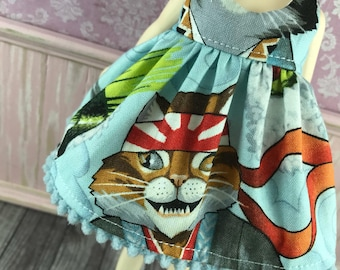 Sale Blythe Dress - Sushi Cat