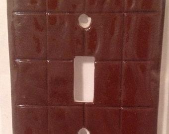 Chocolate Bar Switchplate