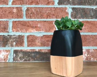 Tall Hand-Shaped Planter