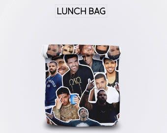 Drake lunch bag for women lunch bag for men lunch bag for kids