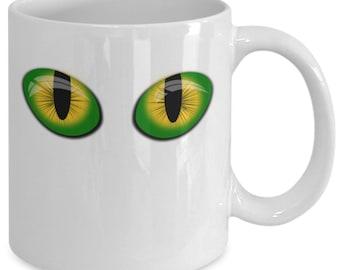 Cat's eyes - gift mug