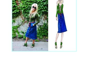 Blog Illustration, Bespoke Illustration, Blog Header, Custom Portrait, Custom Fashion Illustration, Custom Illustration, digital file,