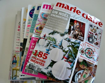 Revistas de Moldes - Marie Claire Idées - Sewing Patterns Magazines (french)