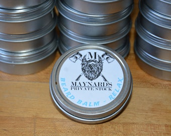 Beard Balm - Relax (Lavender and cedarwood scented beard balm) top selling items hair growth products self care most popular item beard care