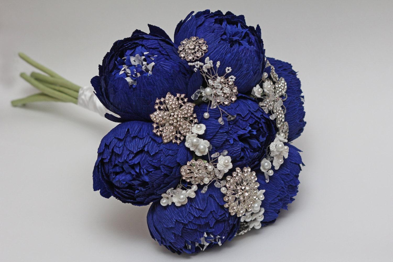 Brooch bouquet wedding bouquet alternative bouquet paper zoom izmirmasajfo