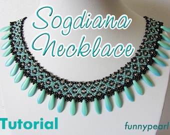 Necklace Sogdiana. Tutorial PDF
