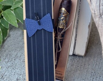 Will You Be My Groomsman Cigar Box Bow Tie Best Man Time To Suit Up Rustic Custom Gift
