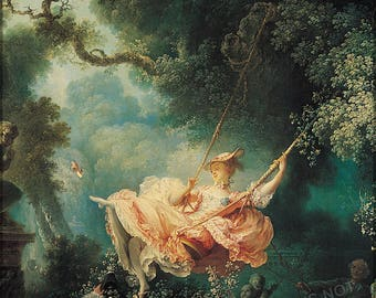 Poster, Many Sizes Available; Happy Accidents Of The Swing Jean-Honoré Fragonard,