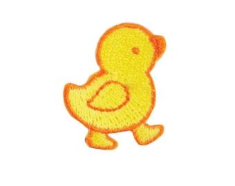 Jaune poussin fer sur fer poussin sur le Patch, Patch oiseaux, poussin Applique, bébé, Applique, Applique enfant Patch, broderie Patch