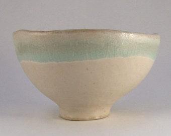 Bowl-model / / Sandstone / / white-Turquoise