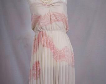 Sheer 1960s summer dress