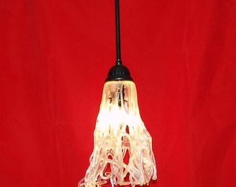 Fused Glass wilden und Wirren Light-Anhänger-Vorrichtung