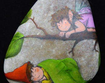 Elf and Gnome-stone ' waking up '