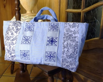 EMBROIDERED hand bag Tote PT cross: fall style