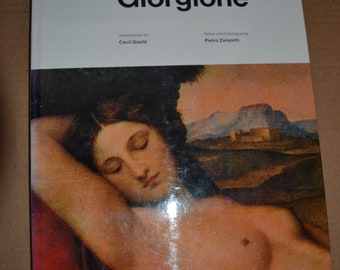 The complete paintings of Giorgione - By Cecil Gould - 1970 1st English edition