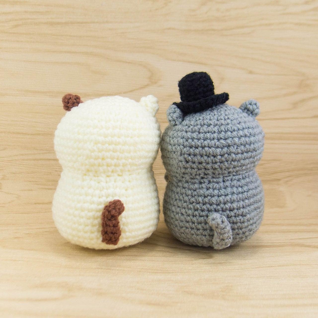 Cat Crochet Pattern - Amigurumi Cat Pattern - Crochet Cat Couple ...