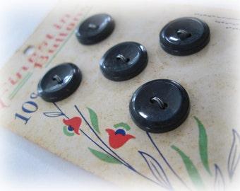 Vintage Button Card VB-01