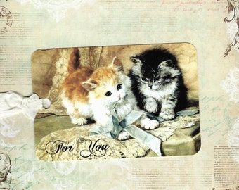 Tags, Kittens, Gift Tags, Kitten Tags, For You, Cat Lover