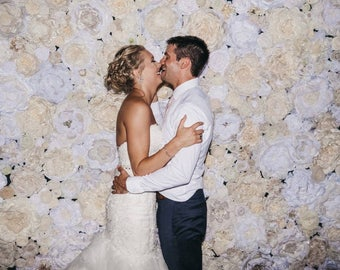 Wedding Flower Backdrop