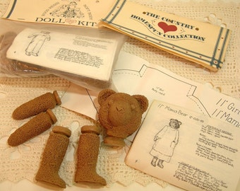 Teddy Bear Doll Kits, Two Bear Kits