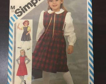 1985 Paper Pattern - USED - SIMPLICITY 6557