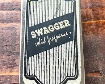 Swagger Solid Fragrance 1/4 oz Slide Tin