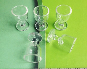 1/2/5pcs. Miniature Wine Glass,Miniature Acrylic Wine Glass,Miniature Water Glass,Water Glass,Mini Wine Glass,Miniature Glass