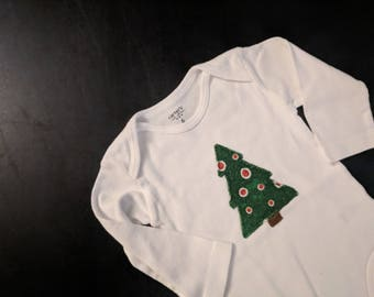 Christmas Tree Onesie - 6 and 12 Months Available