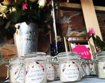 Mini Mason Jar Favors set of 40
