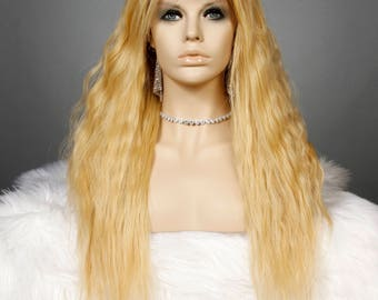 22in Hand tied Silk Top Wig