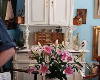 Art Nouveau closet in shabby style 205 x 120 x 60cm