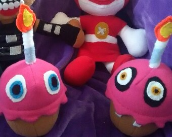 FNAF cupcake plush