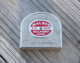 Vintage Walsco 6 ft tape measure