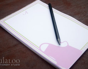 Apron Personalized Notepad perfect for grocery list and recipes