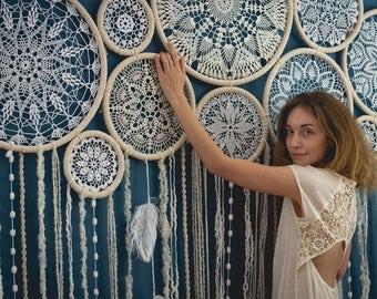 Dream catcher | Wedding decor | Bohemian | Backdrop | Dream catcher wall hanging | Wall art | Wall decor | Wall hanging | Bedroom decor