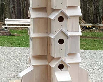 Bird House Hotel, Condo, made from pallet wood, Made to order