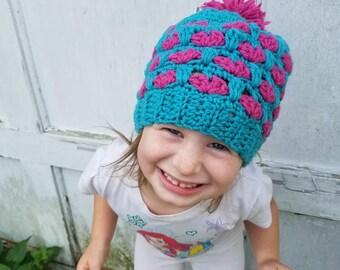 Kids Crochet Heart Hat