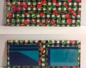 Cherries Duct Tape Bifold Wallet