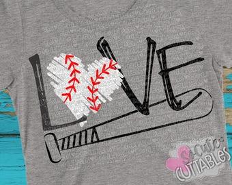 Baseball SVG, Basbeball love svg design, baseball mom SVG, live love baseball, baseball love cut file, baseball sister svg, SoCuteCuttables