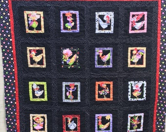 Funky Chicken Quilt Kit