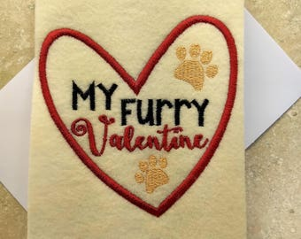 Valentine Day Cards - Animal Love