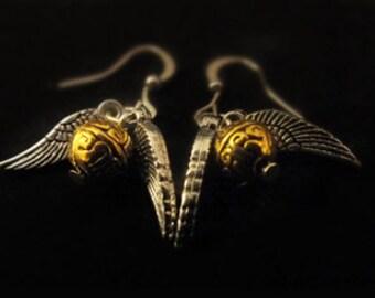 Snitch earrings