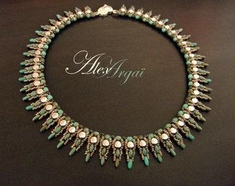 Pattern Paun Necklace