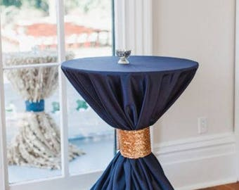 Navy  Tablecloths - Custom reserved