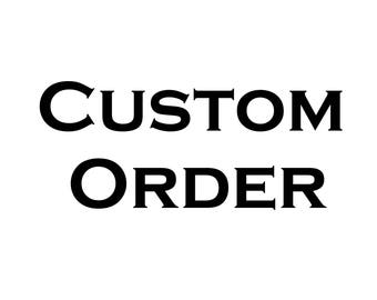 Custom Order - Tshirt - Back Print Only
