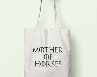Mother Of Horses Tote Bag Long Handles TB0982