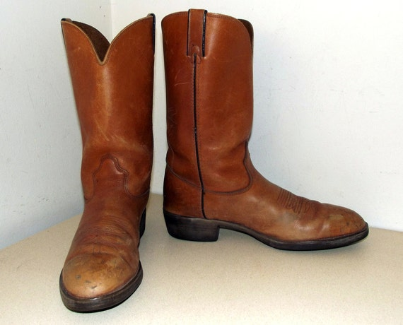 Great Boots Cowboy Vintage Looking Durango rqwprIf