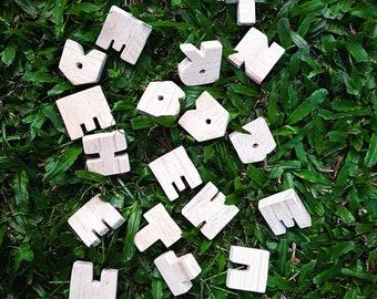Handcrafted Childrens Alphabet Set
